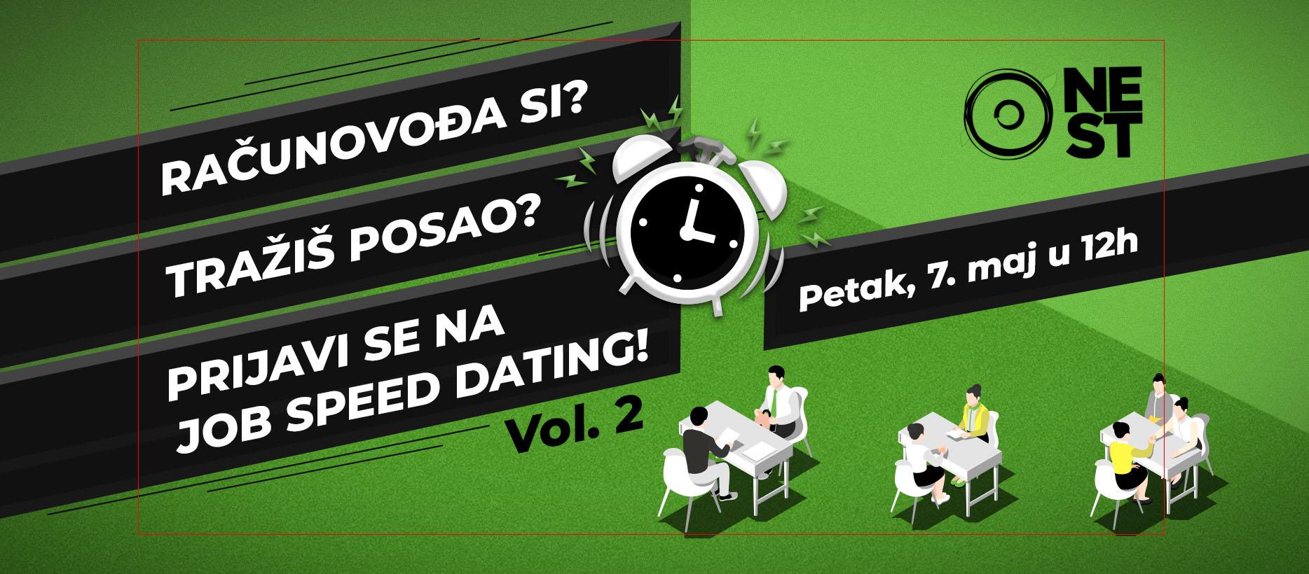 JOB SPEED DATING VOL. 2 U PODGORICI